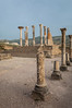 The columns of the former capital building in Volubilis, near Moulay Idriss, Morocco.