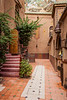 Buildings and architecture of the Hotel Riad Lamane in Zagora, Morocco.
