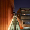 The Ross School of Business at night