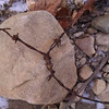 Ok...how scarey is this...what was this stone and barbed wire attached too?  I found this on the river bottom of ceasars creek