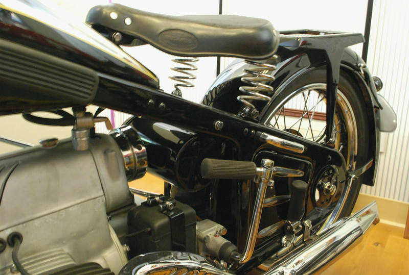 Zundapp 1936 K800 rear suspension