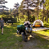 Our campsite at JT Cheeseman PP near Port Aux Basqe