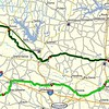 An awesome 320 mile loop from Rockwall.  A great day for a ride with friends.