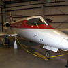 LearJet Model 23 flown here by Louise Timken owner/donor