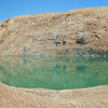 The pit mine that goes with the huge tailings pile..  It was very cool..