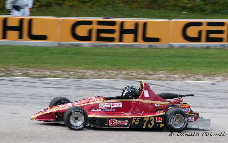 David Vincent, Leavenworth KS , SCCA Runoffs, F500, 2013