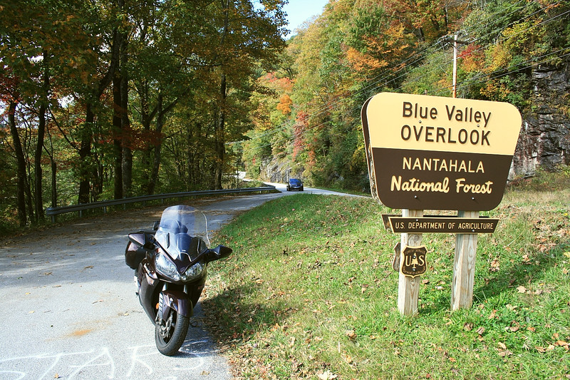 Near Dillard Georgia, this road (246) was a great find. Follow it to Highlands NC, then down 28 to SC.