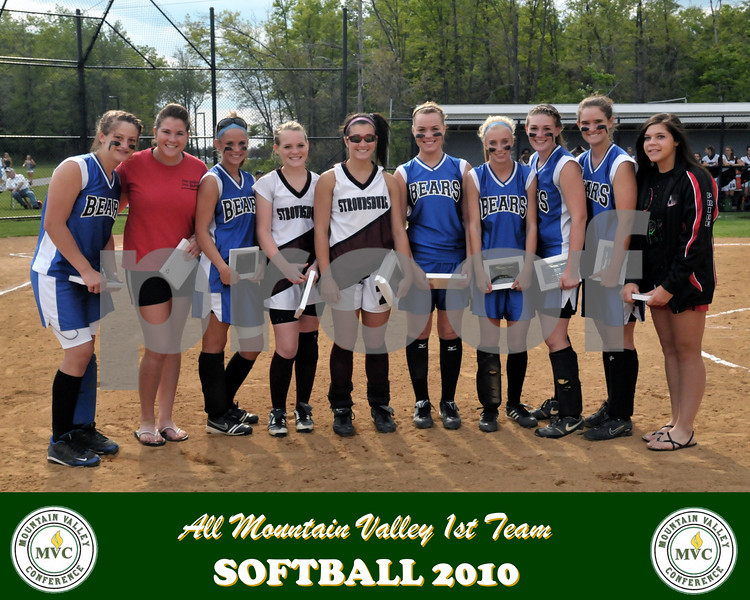 2010 1st Team Softball