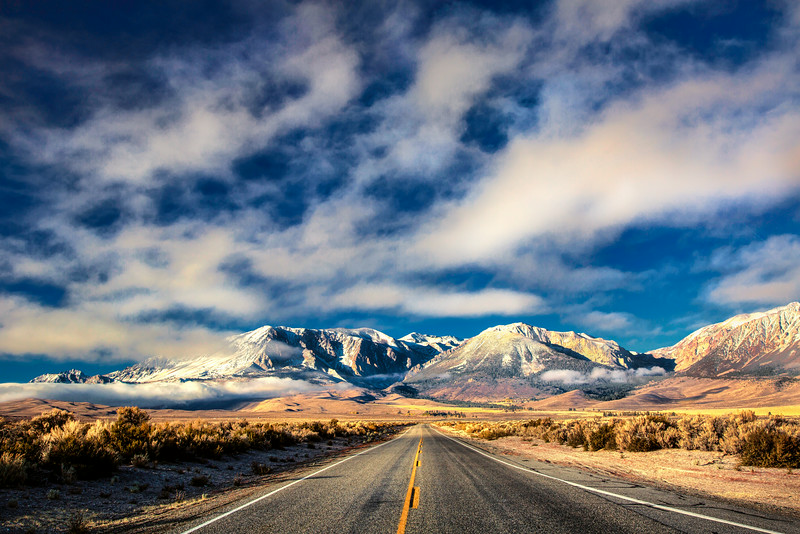 The Road to the Sierra Nevadas