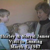 1987-03-08b Shirley and Norval James Visit Lansing