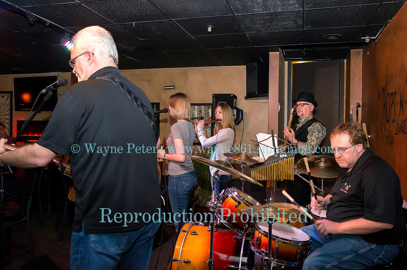 The Celtic band, Another Turn, at Hops n Vines Lounge, in Lewiston, NY April 19, 2014