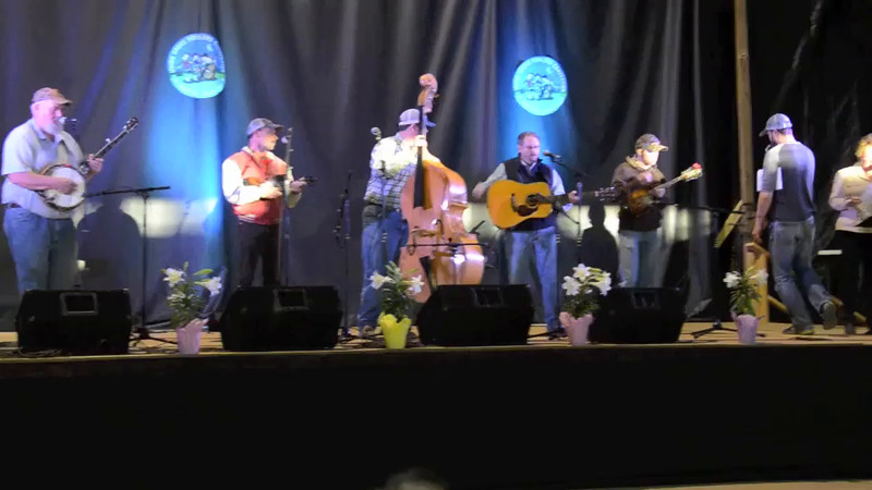 VIDEO: 2015 Union Grove Fiddlers Convention - <br /> Adam McPeak & Mountain Thunder<br /> 2nd place - bluegrass band