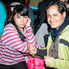 R'n'R fans Yanet & Erick Rojas Santander durante el set de La Base Punk Vernakular - Festival del Arco Iris - Cusco - Perú