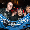 Huge fans Dave Green and a couple from Japan - Eden's Curse Live CD recording - The Classic Grand - Glasgow - Scotland