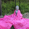Buddha with a scarf