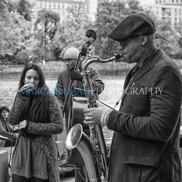 Carolyn Leonhart & Wayne Escoffery- Central Park North