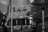 Jazz Drums in Monochrome