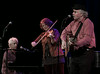 Jani Ian, Lisa Gutkin and Tom Paxton.