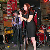 Jill Dineen singing with Michael Ingmire band