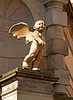 Clock Tower Cherub - Trongate - 23 April 2013