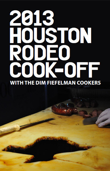 "2013 Houston Rodeo Cook-Off<br /> Tue. January 29, 2013 (day 266)<br /> <br /> DIM Fiefelman used some of my photos from last year for their 2013 flyers. I love it!<br /> <br /> <a href=""http://animoto.com/play/cJ6YUPuIsgXKdOadCJgnug"">http://animoto.com/play/cJ6YUPuIsgXKdOadCJgnug</a>"