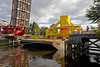 Barge Move - Inchinnan Bascule Bridge - 10 September 2013
