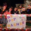 Ballston Spa football fans show their pride and cheer during the annual Holiday Parade Friday Night. Photo By Eric Jenks 12/3/10
