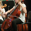 Members of the Ballston Spa High School Orchestra perform Thursday night as part of their holiday concert. Photo By Eric Jenks