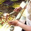 (090107): ACT_RocheBrosOliveBar-- In the mood for something other than olives? Serve up Divina Brand Roasted Tomato With Fresh Mozzarella at your next meal. Available at the self-serve Antipasto station at your neareast Roche Bros location .SUN/Amanda-Beth Potter..DIG IM/3174