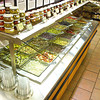 (090107): ACT_RocheBrosOliveBar-- Aerial view of the self-serve Antipasto bar in Roche Brothers Super Market; Acton, Ma. .SUN/Amanda-Beth Potter..DIG IM/3174