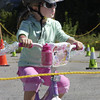 091709: Lowell Police Bike Rodeo : LOW_. Shannon O'Leary, 4, of Chelmsford at Lowell Police Bike Rodeo.   Sun Photo Bob Whitaker_DIG#1837