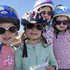 091709: Lowell Police Bike Rodeo : LOW_.   Chelmsford's  Reagan O'Leary, 4, and twin Shannon O'Leary, with sisters Shannon, 7,  and Shea, 6 at Lowell Police Bike Rodeo,  with safety gear intact.  Sun Photo Bob Whitaker_DIG#1837