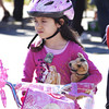 091709: Lowell Police Bike Rodeo : LOW_. Isabel Gervais, 6, of Lowell , lines up for inspection  at Lowell Police Bike Rodeo, Sunday.   Sun Photo Bob Whitaker_DIG#1837