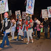 Girl Scouts show off 12 days of christmas during the Ballston Spa Parade Friday Night. Photo Eric Jenks 12/4/09