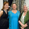 Denise Warner Limoli poses with Kelly Ryan (Left) and Susan Jones (Right) Sunday Evening at the National Museum of Dance in Saratoga Springs. Photo By Eric Jenks