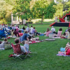 Shakespeare fans gather in droves to watch Saratoga Shakespeare peform in Congress Park Saturday evening. Photo By Eric Jenks 7/16/11