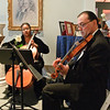 Musicians from the Albany String Trio perform during the First Annual Bridal Show at the National Museum of Dance Sunday Afternoon. Photo Eric Jenks 11/8/09