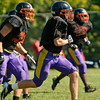 Corinth Football team during practice. Photo By Eric Jenks