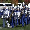 102109 :State Marching Band Finals : LOW__Leominster HS Band enter competition, Sunday at Cawley Stadium. Sun Photo Bob Whitaker_DIG#2040