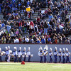 102109 :State Marching Band Finals : LOW_Leominster HS Band and spectators, Sunday at Cawley Stadium. Sun Photo Bob Whitaker_DIG#2040