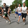 Runners hit the road at the start of the Fairways 5k in Wilton Saturday Morning. Photo Eric Jenks 5/22/10