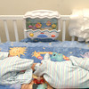 (091907):HAV_Burns,HeatherBadChecks---Premature,infant twins, Hunter and Preston, in their crib, are yet to understand their parents financial burdens. DIG IM No.3301...SUN Photo by Amanda-Beth Potter