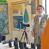 "José Quezada/For the Times-Standard<br /> <br /> California-licensed guide Brad Smith leads an optics exposition workshop Thursday at the Arcata Marsh Interpretive Center as part of the rich menu of birding experiences available with the 17th annual Godwit Days Migratory Bird Festival ending on April 25. Go to <a href=""https://www.godwitdays.org"">https://www.godwitdays.org</a> for festival information."
