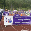Josh Jackson/The Times-Standard<br /> <br /> The Survivor's Lap kicks off the 2007 Relay for Life at College of the Redwoods on Friday.