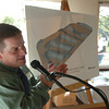 Mark McKenna/ The Times-Standard<br /> Jeff Leonard addresses the crowd gathered in the Cooper Gulch Community Center for a groundbreaking ceremony for the Eureka Skate Park on Wednesday.