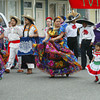 Shaun Walker/The Times-Standard<br /> <br /> Ferndale Elementary Students and others dance and parade down Main Street during Cinco de Mayo festivities in Ferndale on Saturday morning. After the parade, there was food, music, and dancing at the fairgrounds.