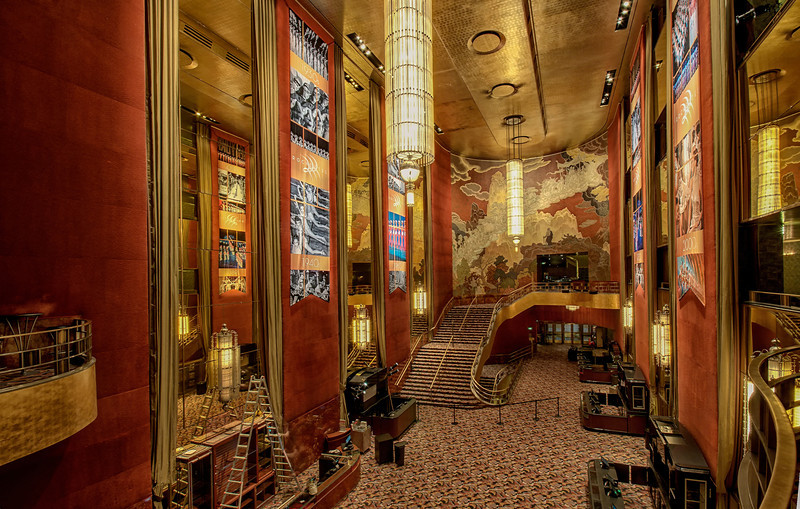 Main Lobby- Radio City Music Hall