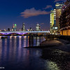 The City of London at twilight