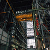 Inside the Vehicle Assembly Building (VAB).
