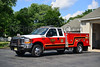 SERGEANTSVILLE UTILITY 47 - 2001 FORDF350/READING BODY   FORMER BRUSH UNIT.